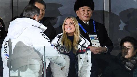 Ivanka Trump bei Schlussfeier in Pyeongchang
