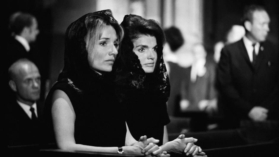 Jackie Kennedy und ihre Schwester Lee Radziwill