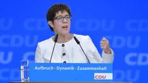Die neue Generalsekretärin der CDU: Annegret Kramp-Karrenbauer