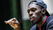 Usain Bolt - Fußball - Unicef - Old Trafford