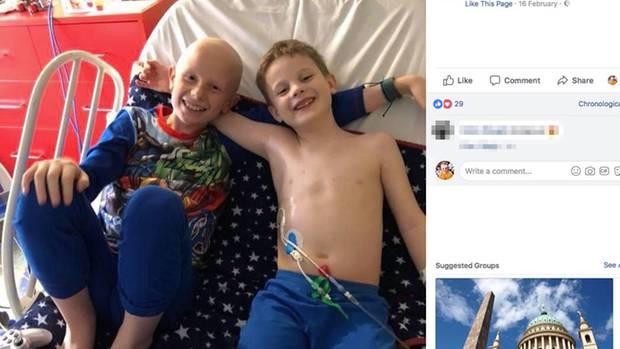 Leo und Oliver sind Brüder – und kämpfen gemeinsam gegen den Krebs