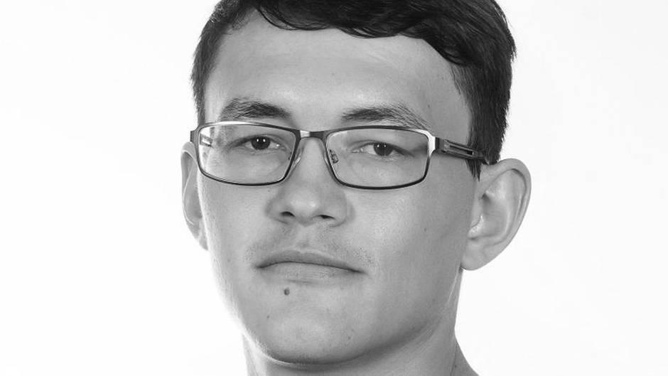 Das Foto zeigt den ermordeten slowakischen Journalisten Jan Kuciak