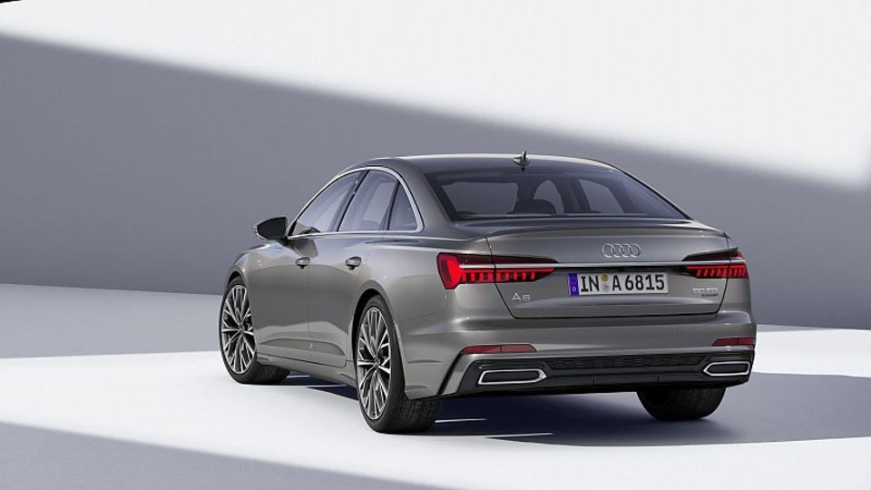 Audi A6 2018 - die Dimensionen sind im Vergleich zum Vorgänger nahezu gleich geblieben.