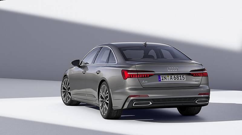 Audi A6 2018 Aufholjagd Stern De