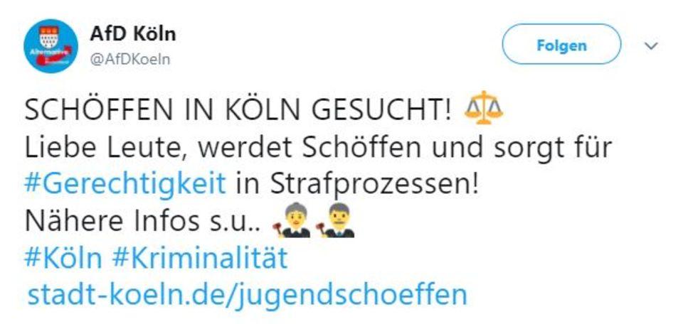 Der Aufruf der AfD Köln