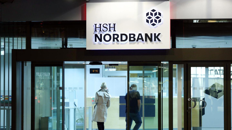 Eingang der HSH Nordbank
