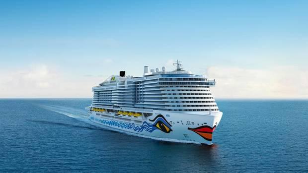 Noch ohne Name: Aida Cruises wird ein drittes LNG-Schiff 2023 in Dienst stellen.