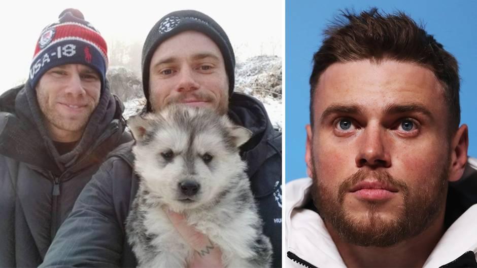 Gus Kenworthy: Olympia-Athlet adoptiert Welpen aus Hundefleisch-Farm