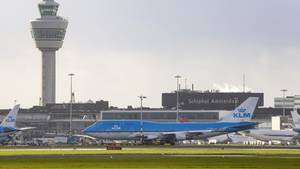 Stromausfall bei KLM in Schiphol