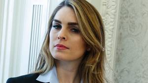 Donald Trumps Kommunikationschefin Hope Hicks