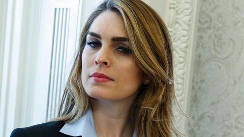 Donald Trumps Kommunikationschefin Hope Hicks