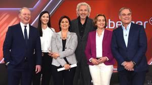 """Gäste der Talkshow """"Maischberger"""""""