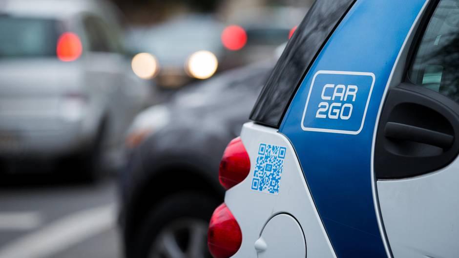 Smart der Car2Go-Flotte