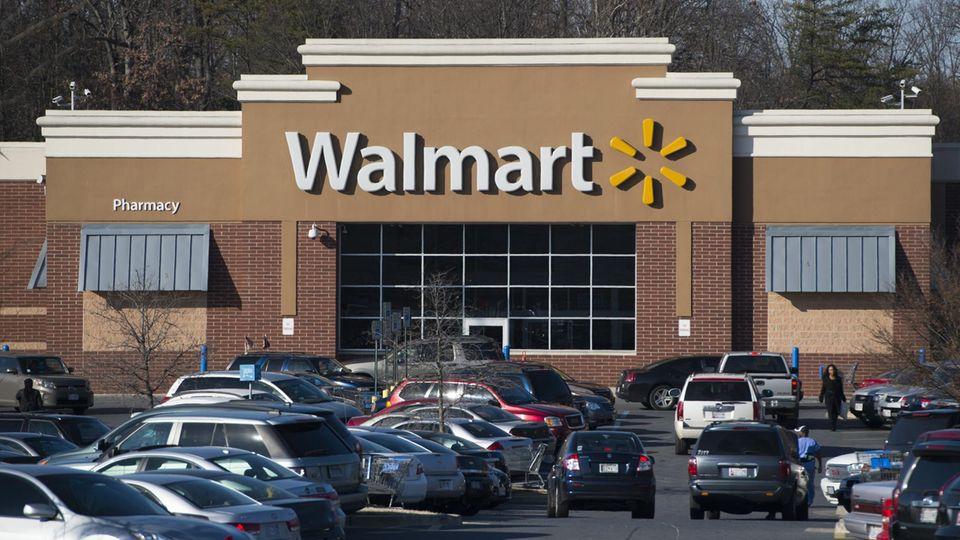 Walmart-Filiale in Landover, Maryland