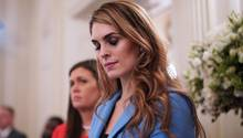 Hope Hicks, 29 Jahre alt, Ex-Model