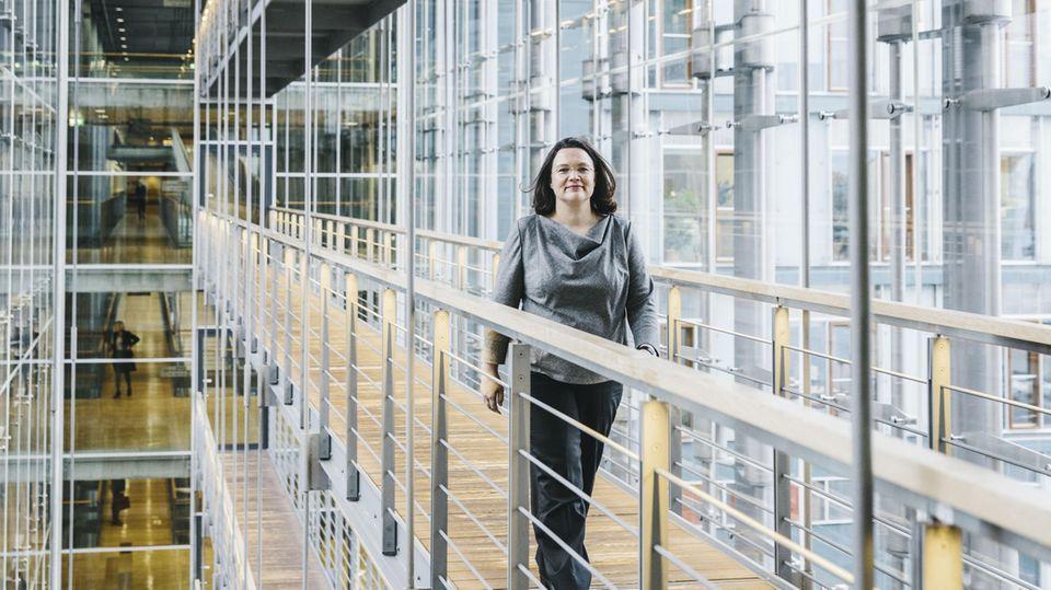 Die künftige SPD-Chefin Andrea Nahles über die Last der Verantwortung