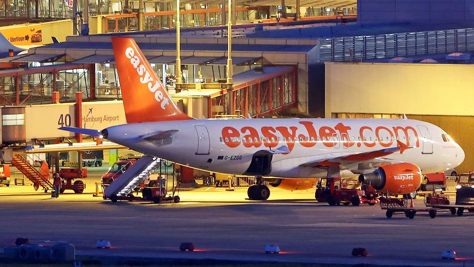 Easyjet am Hamburg Airport