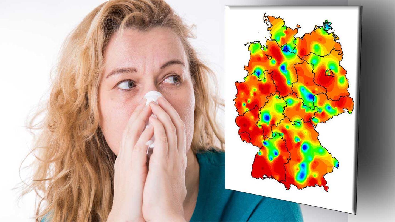 Die Grippe breitet sich rasant in Deutschland aus