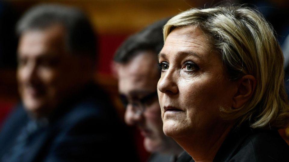 Front-National-Chefin Marine Le Pen