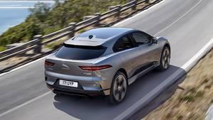 Jaguar i-Pace - die maximale Reichweite liegt bei knapp 500 km