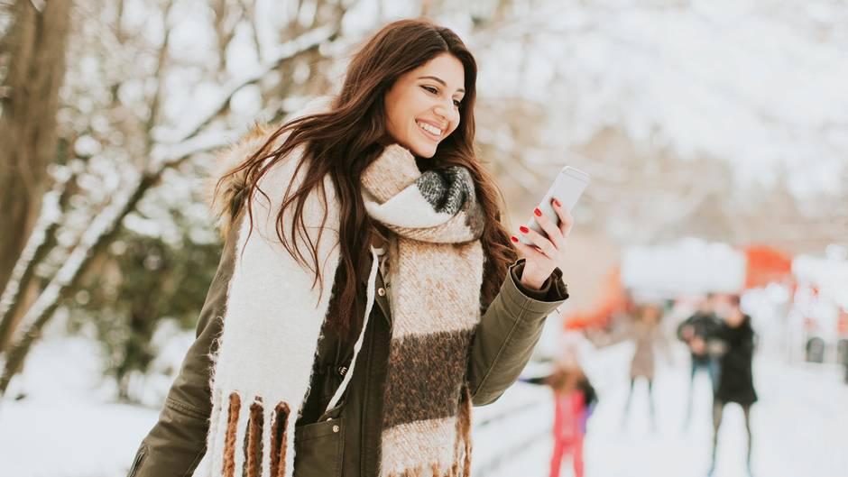 Winterwetter: So schützen Sie Ihr Smartphone vor dem Kältetod