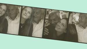 """Unsere Autorin Mareike Nieberding mit ihrem Vater: """"Er sagt als Einziger in unserer Familie 'Ich liebe dich'"""""""