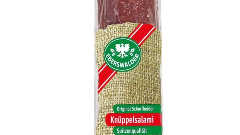Knüppelsalami der EWG Eberswalder Wurst GmbH