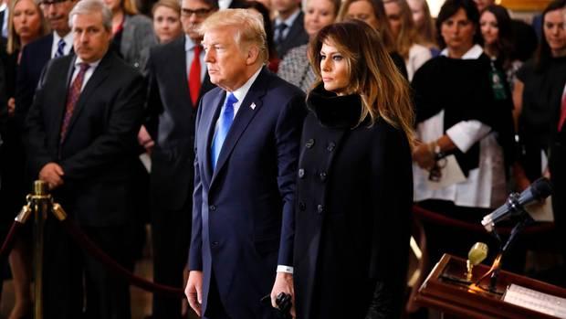 Donald Trump Melania Trump Hand 3