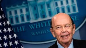 Donald Trumps Handelsminister Wilbur Ross: Dosen gegen den Handelskrieg