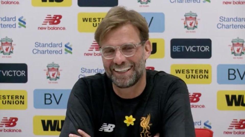 """Premier League: """"Perfekt und gnadenlos"""": Klopps Vier-Tore-Mann Salah begeistert Liverpool"""