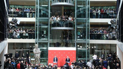 SPD Mitgliedervotum Ja zur GroKo Großen Koalition