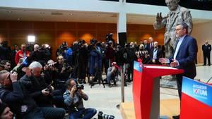 """Basisabstimmung zur GroKo: Das späte """"Ja"""" der SPD: Chronologie einer missglückten Kommunikation"""