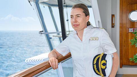 Aida: Das ist die erste deutsche Kapitänin eines Kreuzfahrtschiffs