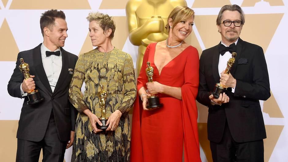 Die Gewinner der Oscars 2018
