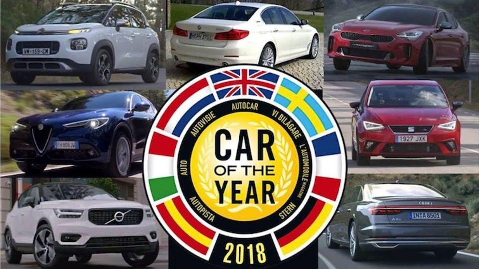 """Sehen Sie hier das Finale live: """"Car of the Year 2018"""": Welches Auto gewinnt?"""