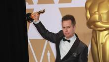 Sam Rockwell jubelt über seinen Oscar