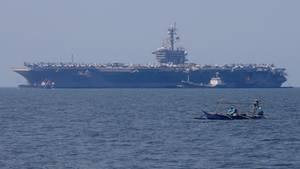 US-Flugzeugträger - Carl Vinson - Vietnam - Besuch