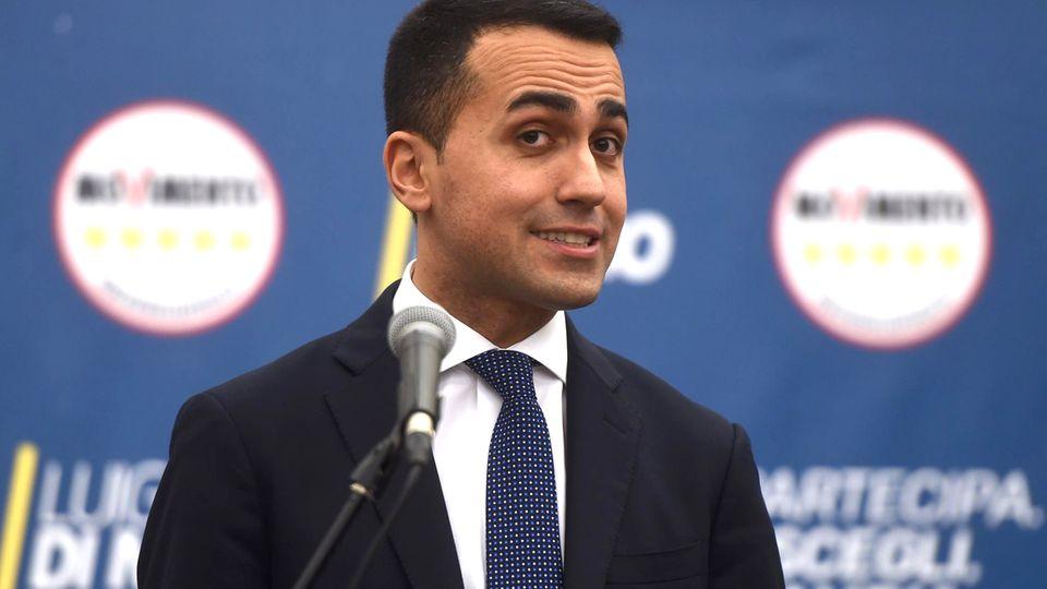 Luigi Di Maio, 31 Jahre alt, greift nach der Macht
