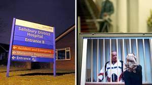 In der südenglischen Stadt Salisbury wurde ein Mann mit Vergiftungserscheinungen ins Krankenhaus eingeliefert