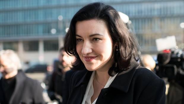 Die künftige Digitalbeauftragte der Bundesregierung Dorothee Bär von der CSU