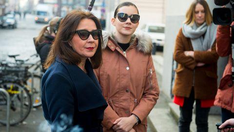 Nathalie Volk und ihre Mutter