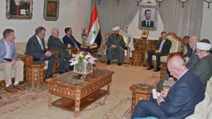 AfD-Politiker treffen Großmufti Ahmed Hassun