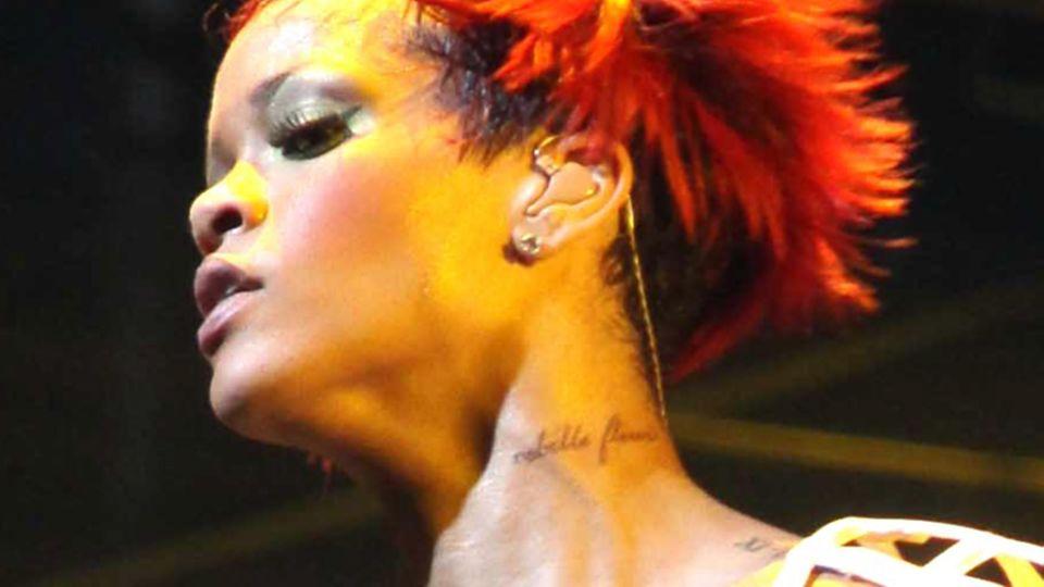 Tattoo von Rihanna