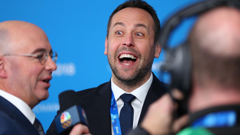 """Eishockey-Nationaltrainer Sturm: """"Die Erwartungen sind jetzt andere als vor einem Monat."""""""