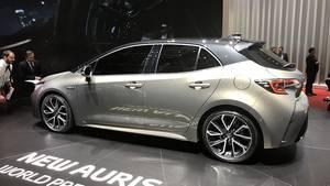 Toyota Auris 2018 - es sind ein Turbobenziner und zwei Hybriden im Angebot