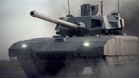 In zwei Jahren soll der T-14 ausgeliefert werden. Die ersten Panzer gehen an die 2. motorisierte Gardeschützendivision.