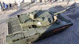 Der Trum ist unbemannt, so erzielt der große Panzer das geringe Gefechstgewicht von nur 48 Tonnen.