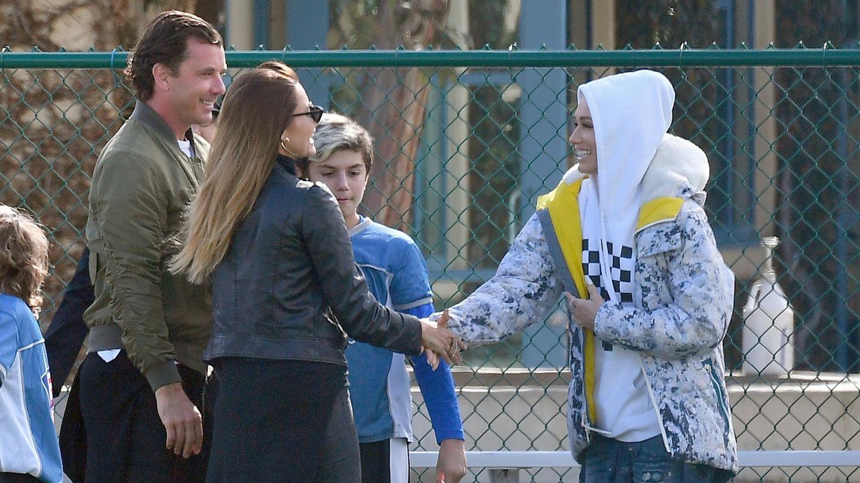 Sophia Thomalla, Gavin Rossdale und Gwen Stefani