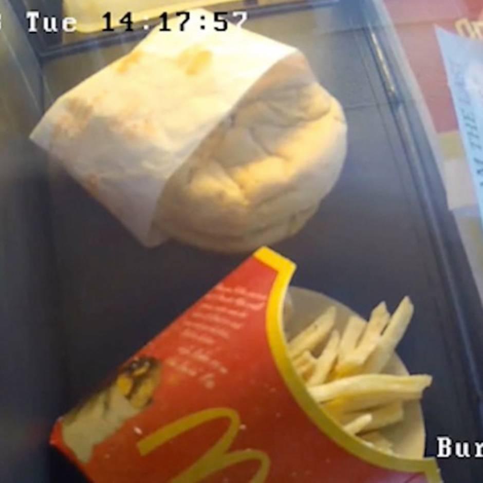 Der letzte Burger Islands: Dieser McDonald's-Burger ist zehn Jahre alt und er schimmelt immer noch nicht – das ist der Grund