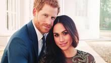 Das offizielle Verlobungsfoto von Prinz Harry und Meghan Markle